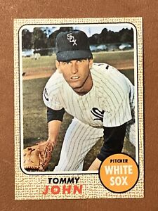 1968 Topps Tommy John Card #72 NM-MT Nice Chicago White Sox
