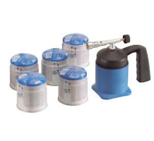 Loetmeister-1000-5-Gaskartuschen-Loetbrenner-Loeten-Gasbrenner-Loetlampe-CFH