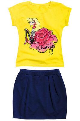 Комплект для девочки Charme желтый Ванильное утро Пеликан