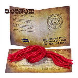 10-pcs-Authentic-Kabbalah-Red-String-Lucky-Bracelet-Rachel-039-s-tomb-Jerusalem