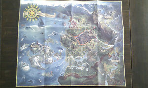 The-Witcher-3-Wild-Hunt-MAPA-ORIGINAL-Reino-Unido-en-Ingles-Genuino