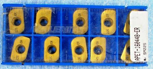 "3//16/"" Radius Tip New Valenite APET 160448 ER Grade SM225 Carbide Insert 10 Pcs"