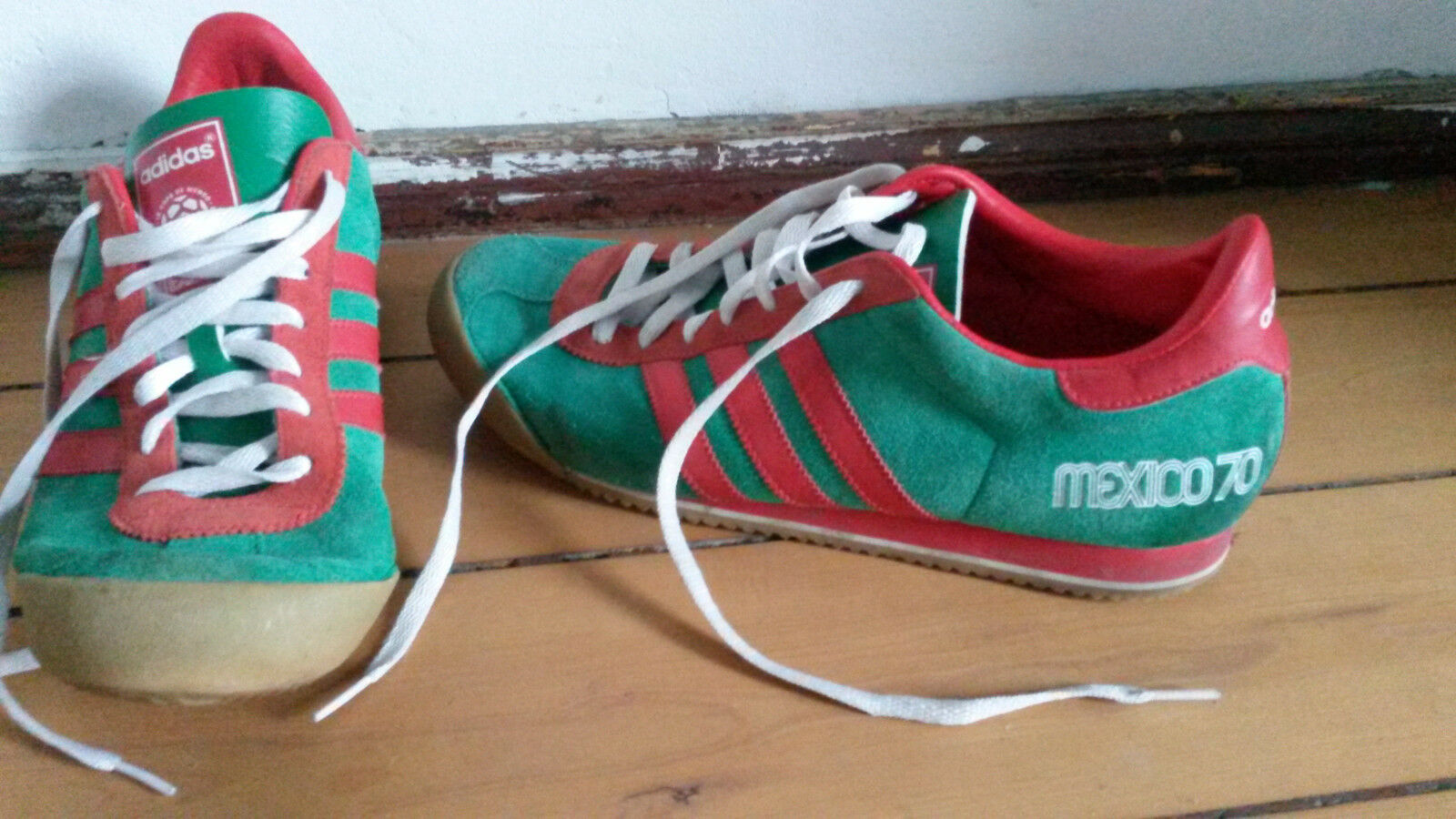 Addidas Vintage Turnschuh Turnschuh Turnschuh Mexico 70 Gr.44,5 bc40b9