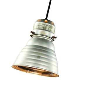 Zeiss Ikon Pendel Leuchte Adolf Meyer Bauhaus Design Lampe  20er 30er Vintage #2