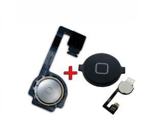 820aedaa09f La imagen se está cargando BOTON-HOME-CABLE-FLEX-IPHONE-4S-Negro-CON-