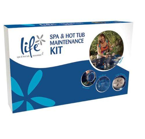 Includes Net /& Scum Sponge * Spa /& Hot Tub Accessories Life Maintenance Kit