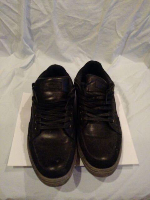 44f553f9b15 Steve Madden Gasper Men s Shoes 10 Black Gray Lace Ups Fashion Sneakers