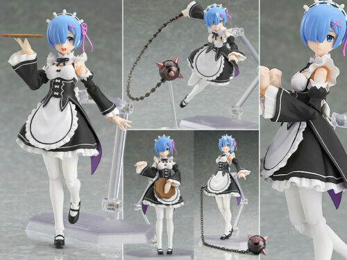 Neuf Figma Re Life in a Different World from Zero Rem Action Figure 16cm NoBox