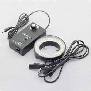 60-LED-Adjustable-Ring-Light-illuminator-Lamp-For-STEREO-ZOOM-Microscope-US-Ship