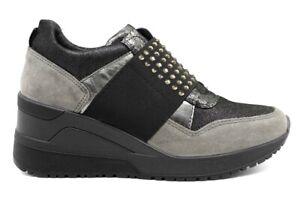 IGIeCO-4143000-Grigio-Sneakers-Scarpe-Donna-Calzature-Casual