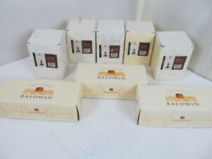Lot-of-8-New-in-Box-Baldwin-Brass-Votive-Candle-Holders