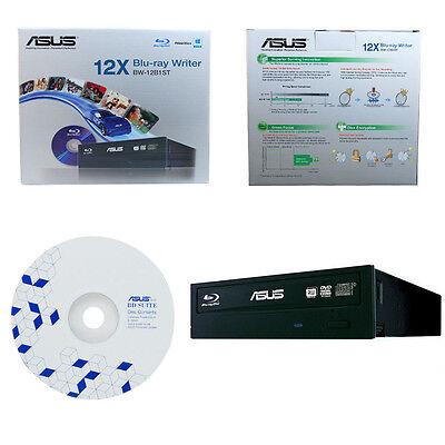 USED ASUS BW-12B1ST 12X Blu-ray BDXL Burner CD DVD Disc Burner in Retail Box