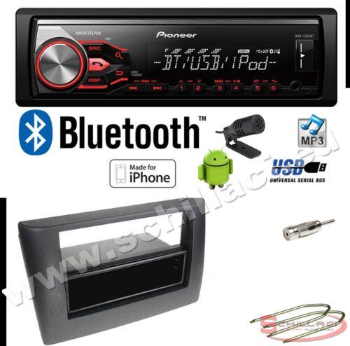 Kit montaggio per Fiat stilo bluetooth Pioneer MVH-390BT autoradio USB