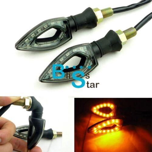 Motorcycle LED Turn Signal Light Indicator Blinker Lamp Amber GSXR Ninja BS1