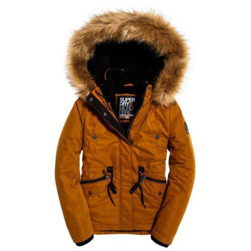 Superdry Alpine Microfibre Orange T62108// Coats and parkas Woman Orange Superdry