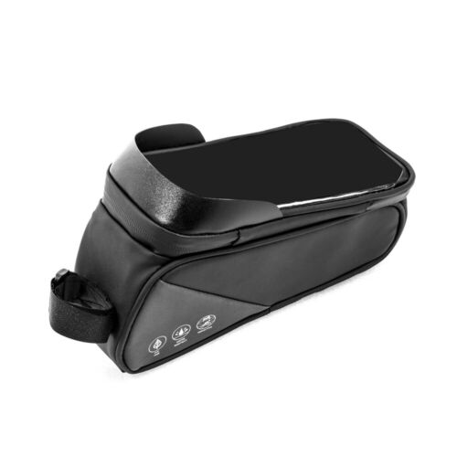 Details about  /Tube Bike Cell Phone Bag Pannier Pack Holder Cycling Bicycle Waterproof Bag R1M0