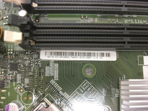 LOT OF FIVE Dell 0pu052 pu052 motherboard w// sla9x 2.3ghz cpu for opitplex 755