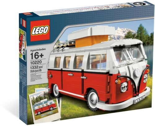 LEGO 10220 Volkswagen T1 Camper Van Brand New and Sealed