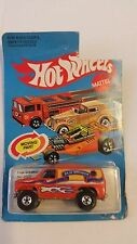Hot Wheels Baja Breaker Van Orange #2022 Vintage 1982 Malaysia NIB Unpunched