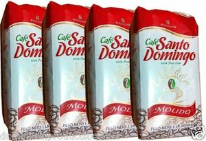 CAFE-Santo-Domingo-Grounded-coffee-4-pounds-100-pure-the-best-Dominican-EUROPE