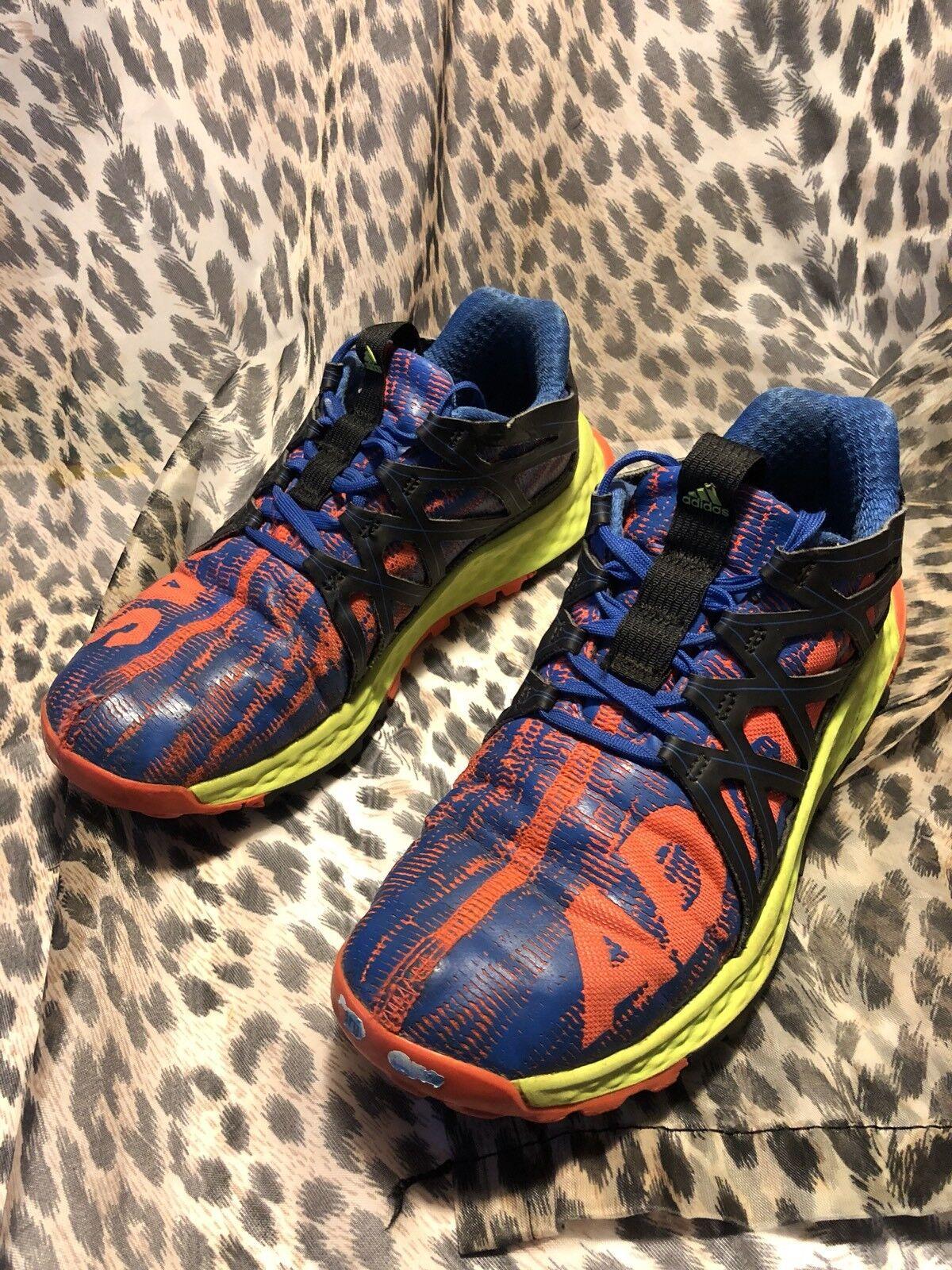 adidas vigor bounce hommes est orange / bleu / marché néon, à l'aise bon marché / et belle mode 56554e