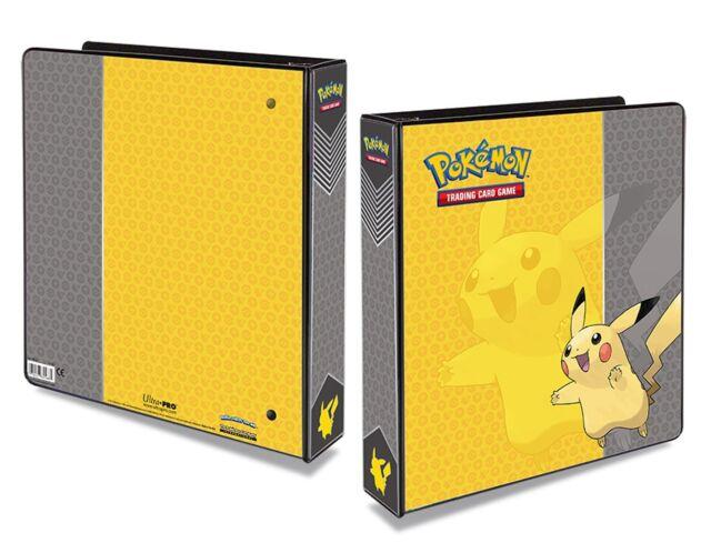 "Ultra Pro Pokemon Pikachu, XY 2"" Ring Binder,"