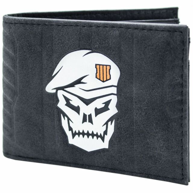 Official Call of Duty Black OPS 4 Skull Soldier ID /& Card Wallet *SECOND*