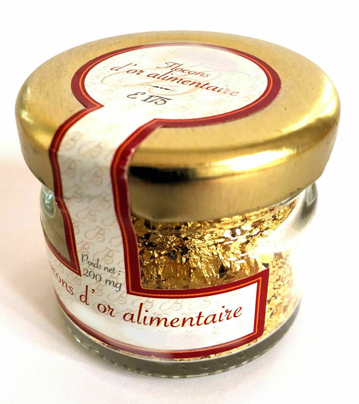 24 Karat Edible Gold Flakes from France - Nothing but 100% Gold