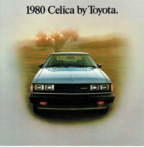 1980 Toyota Celica GT Liftback /& Sport Coupe ST Sport Coupe Dlx Sales Brochure