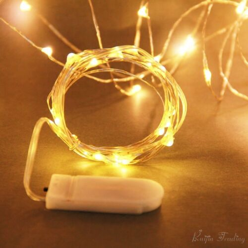 3M 30LED Cell Battery Operated Micro Wire String Fairy lights Party@ Best Price