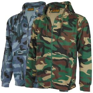 Mens-Mans-Zip-Up-Camo-Hoody-Hooded-Army-Camouflage-Top-Hoodie-Sizes-S-5XL