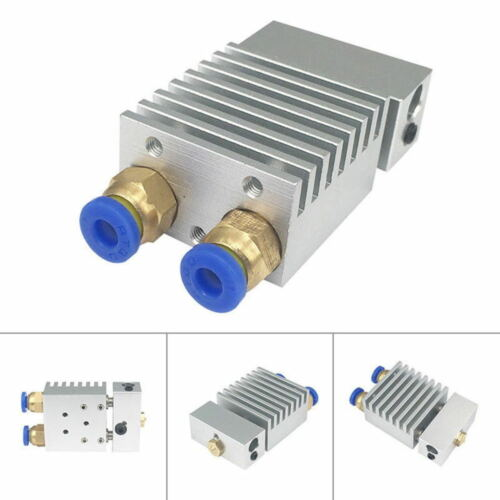 Hotend Extruder Hot End V1 0.4mm Dual Head Nozzle for 1.75mm Filament 3D IHM