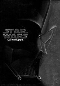 DVD-BOX-4-DVD-Star-Wars-Guerre-Stellari-LA-TRILOGIA-Edizione-Limitata