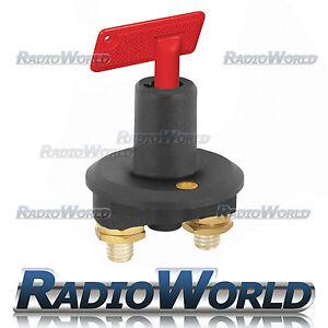 Battery-Isolator-Cut-Off-Power-Kill-Switch-100A-12v-Car-Track-Rally-Boat