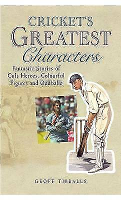 (good)-cricket's Greatest Characters (paperback)-tibballs, Geoff-1906217289 Disponible En Varios DiseñOs Y Especificaciones Para Su SeleccióN