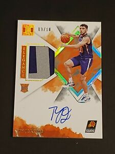 2019 Impeccable Elegence GOLD Ty Jerome /10 RC RPA Auto Rookie Patch Autograph