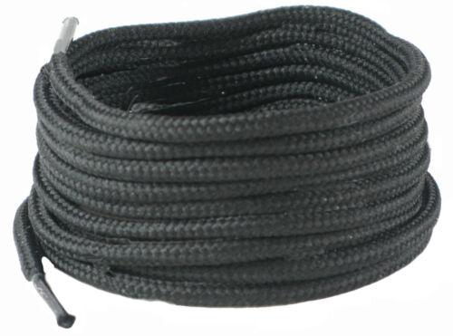 120 cm 4 mm Rond Noir /& Marron Ronde Chaussure /& Botte Lacets