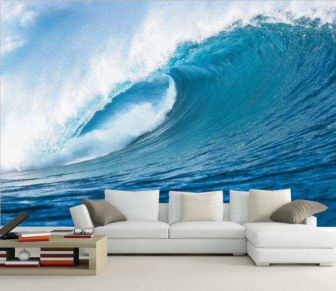 3D Riesige Wellen Ozean 45 Tapete Tapeten Mauer Foto Familie Tapete Wandgemälde