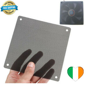 Computer PC Dustproof Cooler Fan Case Cover Dust Filter Mesh Cuttable 120mm