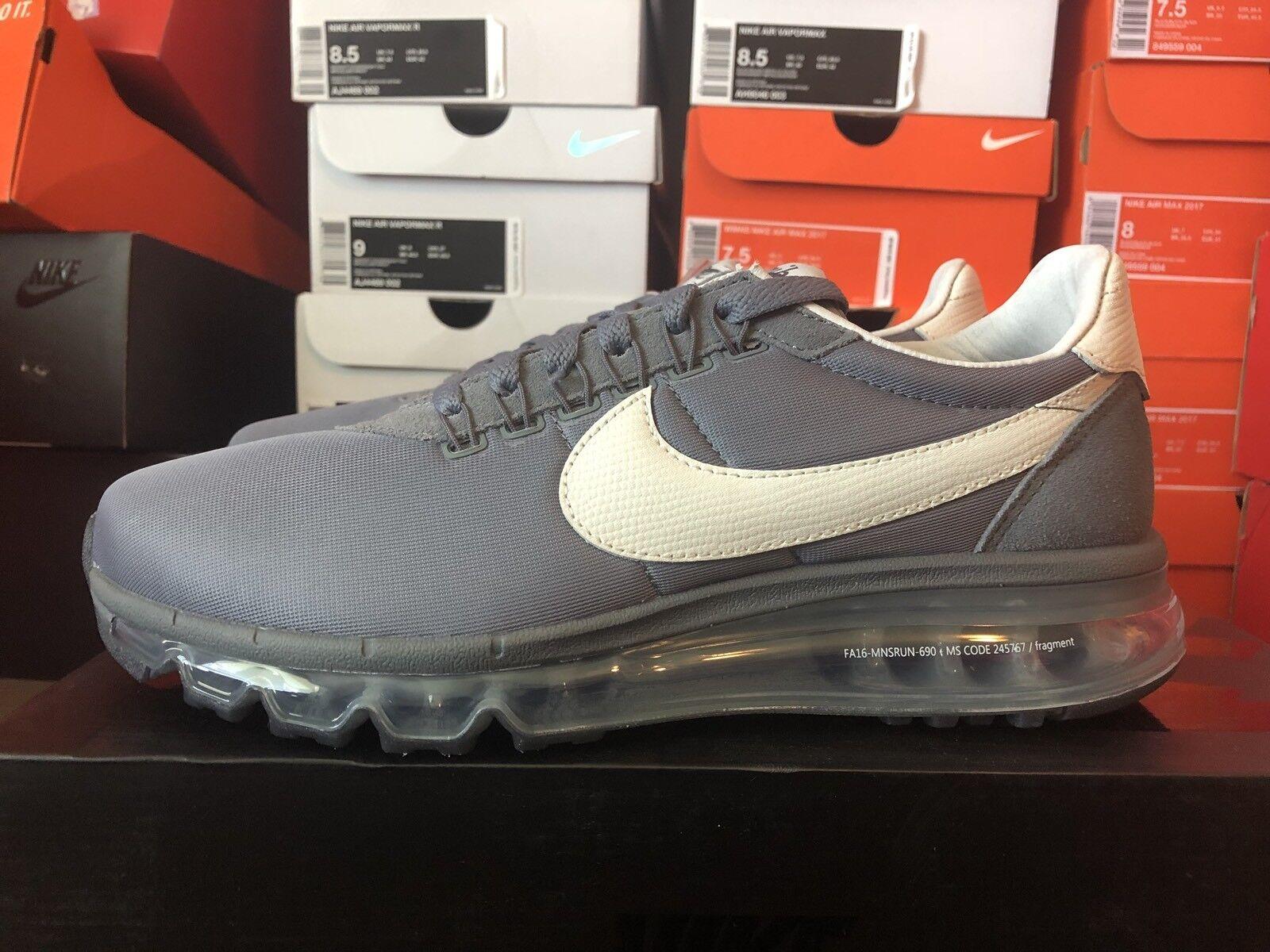 Nike air max ld-zero fragment hiroshi fujiwara grau - weiß sz - 9.