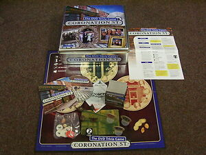 CORONATION-STREET-DVD-TRIVIA-GAME-100-COMPLETE-USED-ONCE-MINT-TIN-FREEPOST