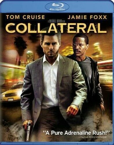 Collateral (2004 Tom Cruise) BLU-RAY NEW