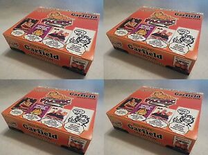 2-Box-Garfield-Collection-Comic-Strip-Trading-Card-Unopened-Pack-Box-Pacific