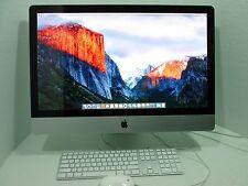 "Apple iMac 27"" Mac Desktop 3.4Ghz Quad Core i7 16GB 1TB - 1 Year Warranty!"