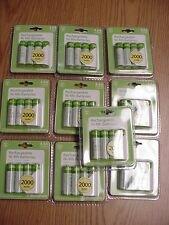 Westinghouse 40X AA ReChargeable  2000 mAh 1.2V Ni-Mh works with Eneloop charger