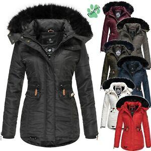 new products 0fc47 e45a9 Details zu Navahoo Damen Winter Jacke Parka Mantel Trendjacke Fellkragen  Kapuze SCHÄTZCHEN