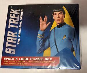 Star-Trek-The-Original-Series-Spock-039-s-Logic-Puzzle-Box-new-sealed