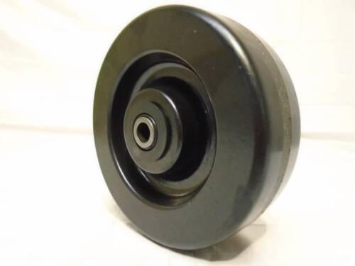 "6/"" x 2/"" Phenolic Caster Wheel 1200lb w// Roller Bearing /& FREE 1//2/"" Bushing"