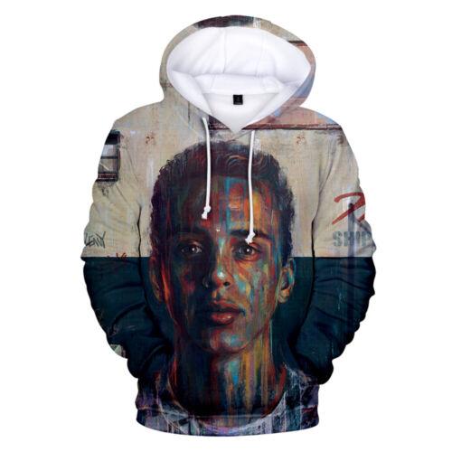 Rapper Logic Hoodie Cotton 3D Print Pullover Tops Sweather Hip Hop Fans Singer