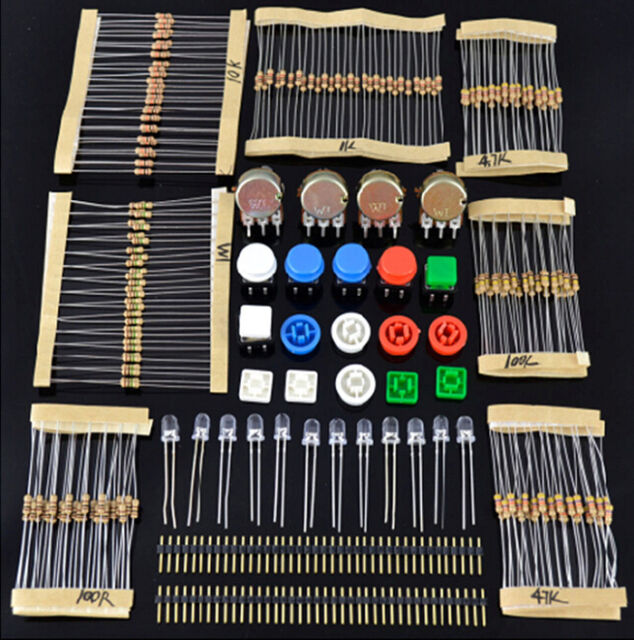 1Set Total 20 kinds Element Kit Universal Components Kit for Arduino